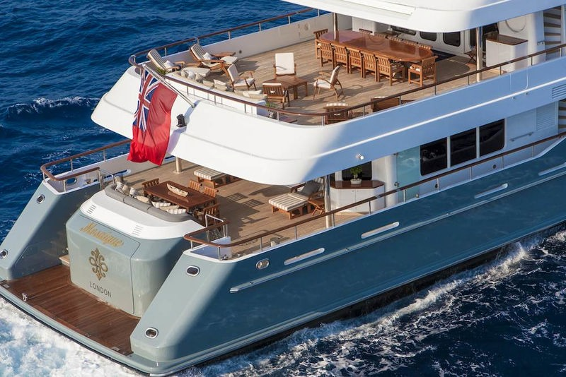 Mosaique Yacht Turquoise Yachts Superyacht Times