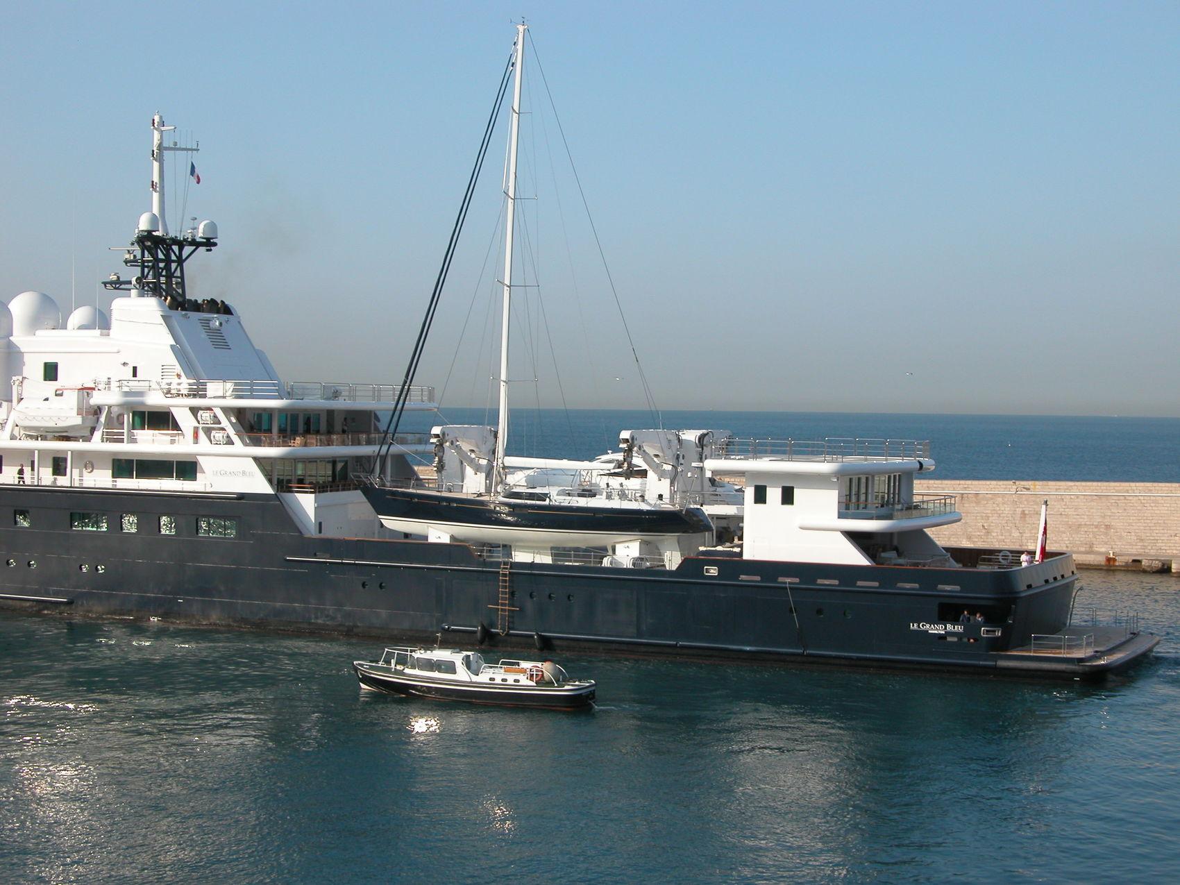 Le Grand Bleu Yacht Superyacht Times