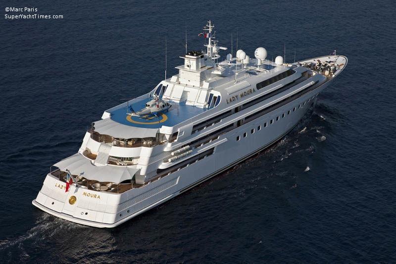 Lady Moura Yacht Blohm Amp Voss Gmbh Superyacht Times