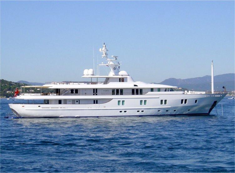 Katharine yacht - CRN Spa   SuperYacht Times