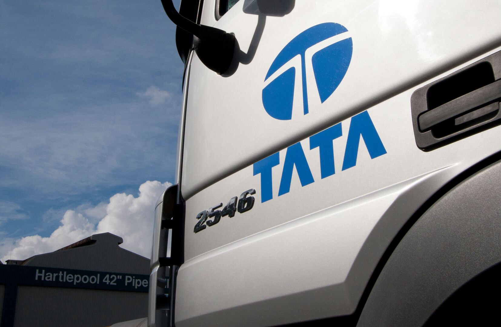 Tata Steel lorry