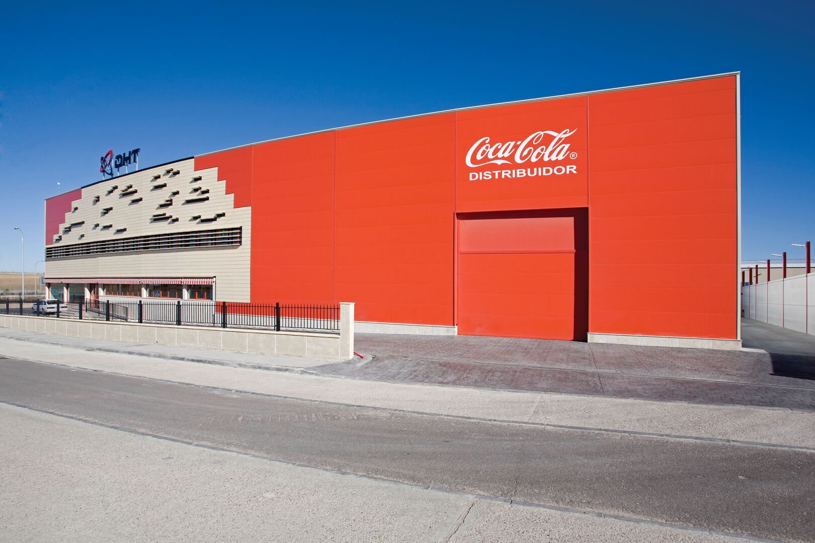 coca cola tata steel construction