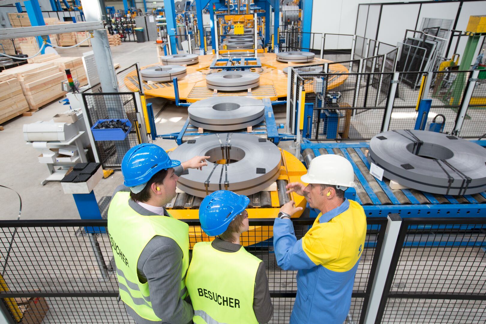 Opening slitterline at Gelsenkirchen Service Centre