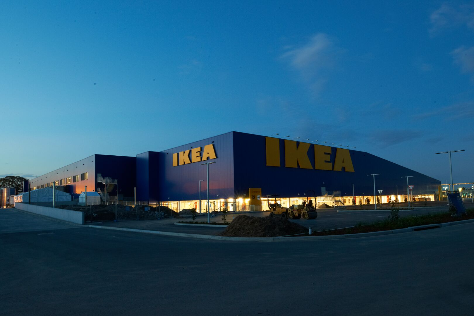 Colorcoat used on IKEA store