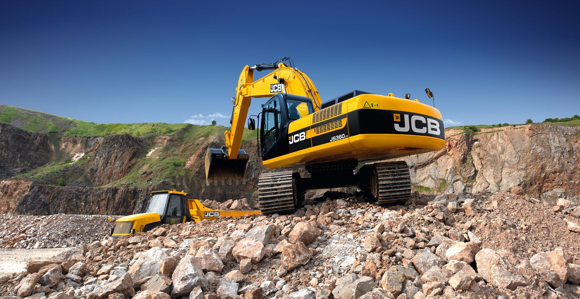 JCB equipment containing Ympress high strength steel