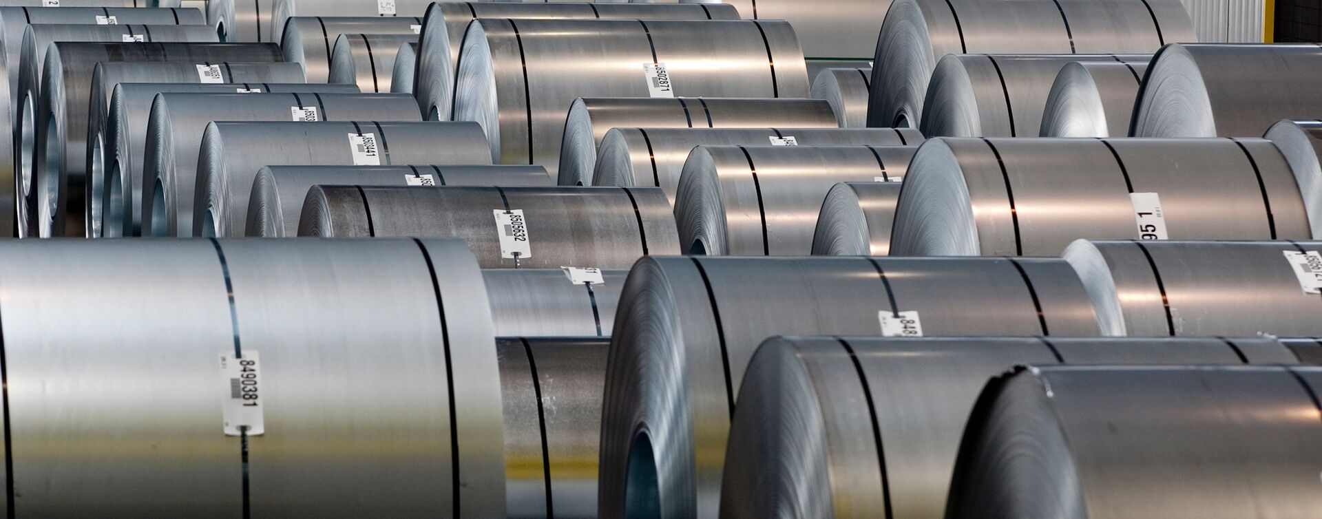 Tata Steel in Europe Hot Rolled Coils on-site