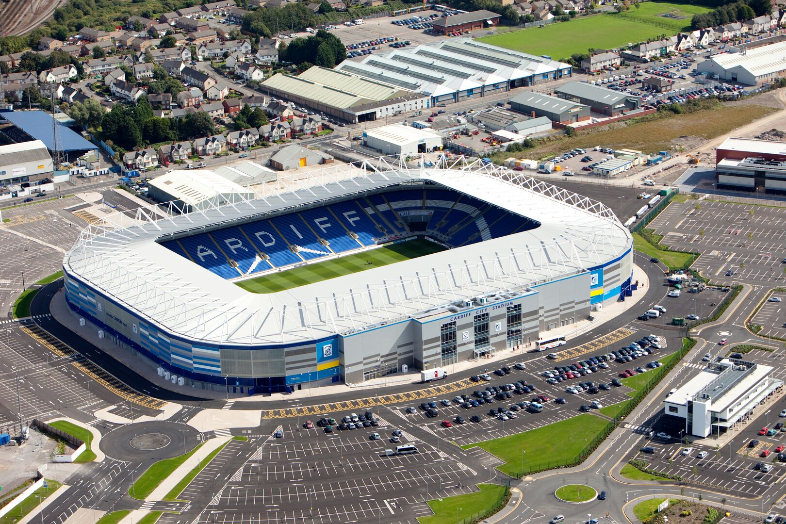cardiff city stadium tata steel construction