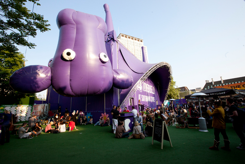 Udderbelly Purple Cow Venue